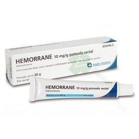 HEMORRANE 1% POMADA RECTAL 30 G