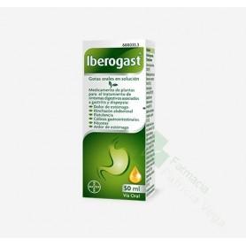 IBEROGAST GOTAS ORALES EN SOLUCION frasco de 50 ml