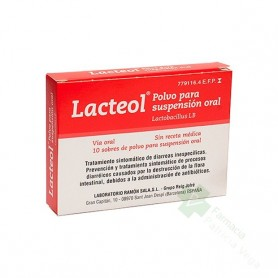 LACTEOL 10 SOBRES POLVO SUSPENSION