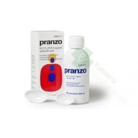 PRANZO 62,5 /1,25 /0,5 MG/ML SOLUCIÓN ORAL , 200 ML