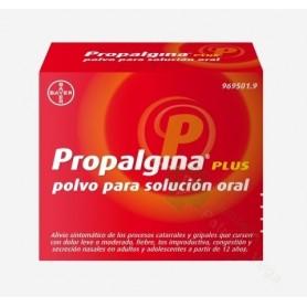 PROPALGINA PLUS POLVO PARA SOLUCIÓN ORAL 10 SOBRES