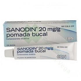SANODIN (2% POMADA BUCAL 15 G)