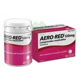 AERO RED 120 MG COMPRIMIDOS MASTICABLES, 40 COMPRIMIDOS