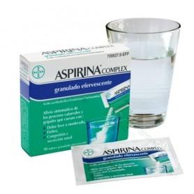 ASPIRINA COMPLEX GRANULADO EFERVESCENTE 10 SOBRES