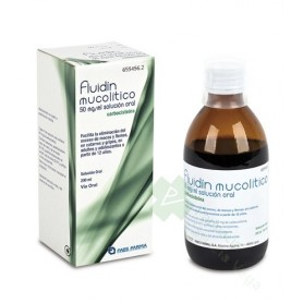 FLUIDIN MUCOLITICO, FRASCO DE 200 ML