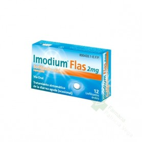 IMODIUM FLAS 2 MG 12 LIOFILIZADO ORAL